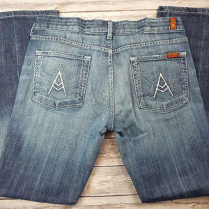 "7 for all man Kind ""A"" pocket jeans size 32 x 31"